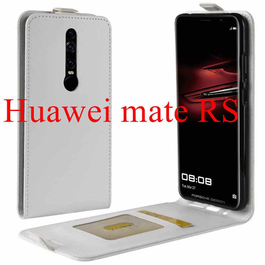 Флип-чехол из искусственной кожи + чехол-бумажник для huawei P20 lite p10 lite, закаленное стекло, Защитная пленка для экрана huawei mate RS P20