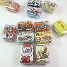 32 pcs/lot Personalized Christmas Gifts Toys for Boys Small Motorcycle Pattern Tea Cookies Storage