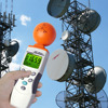 Digital 3-axis EMF ELF RF Electromagnetic Wave Field Strength Radiation Microwave Taiwan Made Meter 38mV to 11V/m Range 2