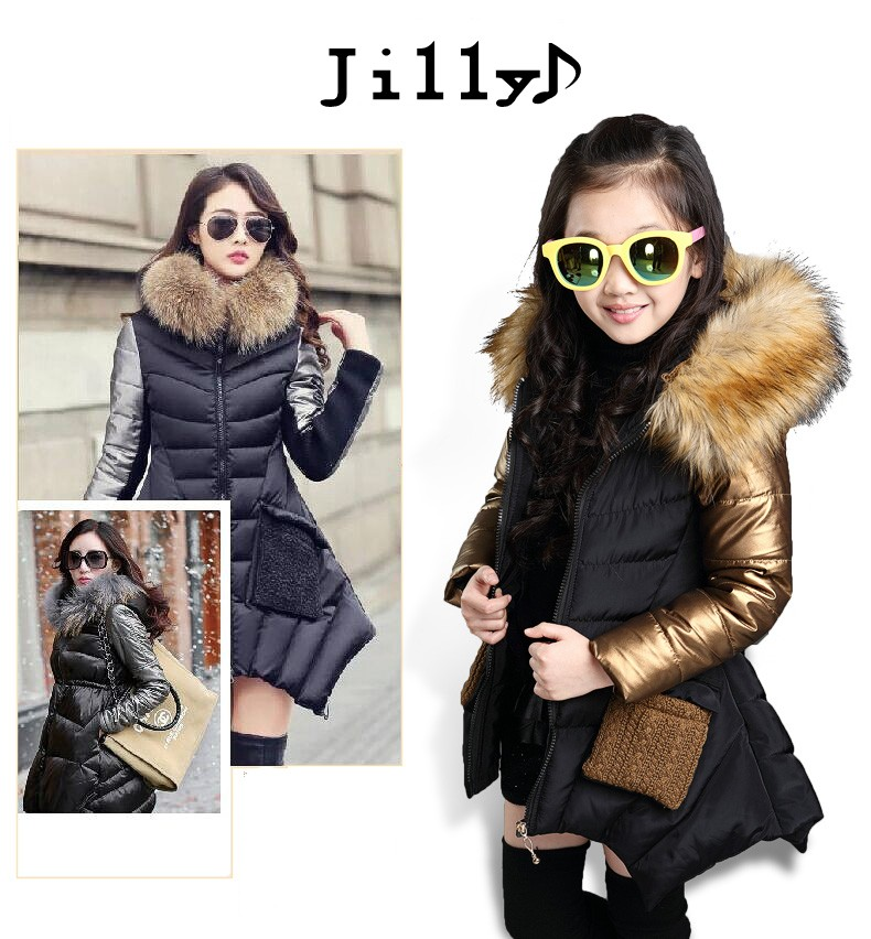 Discount Fille Winter Down