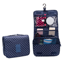 Women Toiletry Organizer Cosmetic Bag Hanging Casual Wash Makeup Travel Camping Overnight Storage Cases Accessories