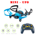 JXD 512V JXD512V 2.4Ghz Mini UFO One-Key-return & Headless Mode RC Quadcopter with 0.3MP HD Camera + 4G Card RTF