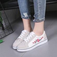 Puimentiua White Vulcanize Shoes Breathable Flats Female Platform Sneakers Women