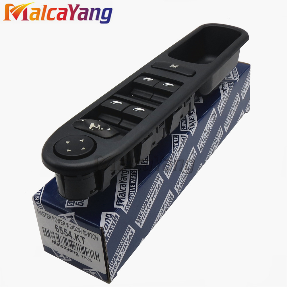 Hight Quality Window Switch Electric Folding 6554.KT For Peugeot 307 CC 2003-2008 307 SW 2002-2014