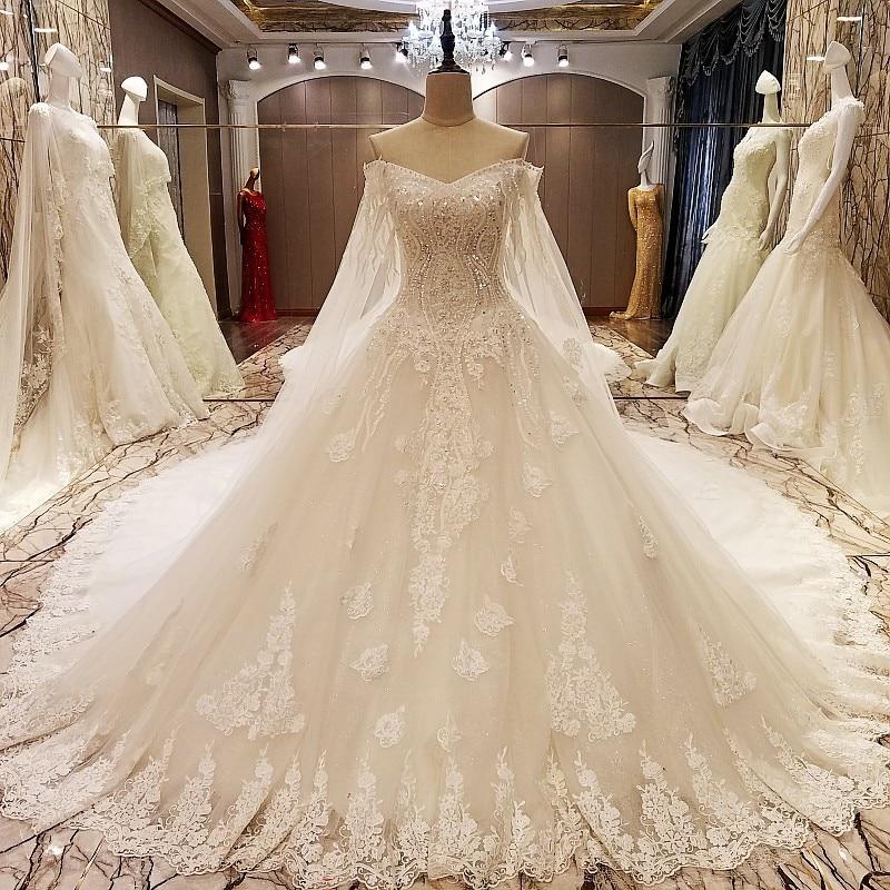 Classic Wedding Gowns 2018: Vintage Lace Ball Gowns Wedding Dresses 2018 Vestido De