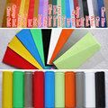 10pcs 18650 Battery Wrap PVC Heat Shrink Tubing Pre-cut  Color Selectable (for single 18650 Battery)