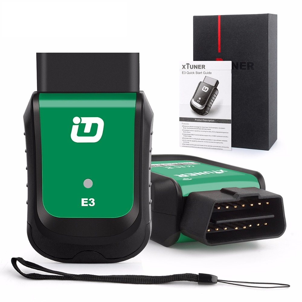 Latest Original XTUNER E3 WIFI OBD2 Professional Full System Diagnostic Tool With Special Function Automotive Scanner
