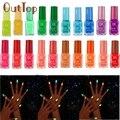 20 colores serie de Neón Fluorescente Luminoso Esmalte de Uñas de Gel para Glow In Dark esmalte de Uñas de gel polish Nagellack 11 Dropship