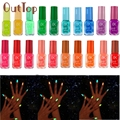 20 colors series of Fluorescent Neon Luminous Gel Nail Polish for Glow in Dark Nail Varnish gel polish Nagellack 11 Dropship