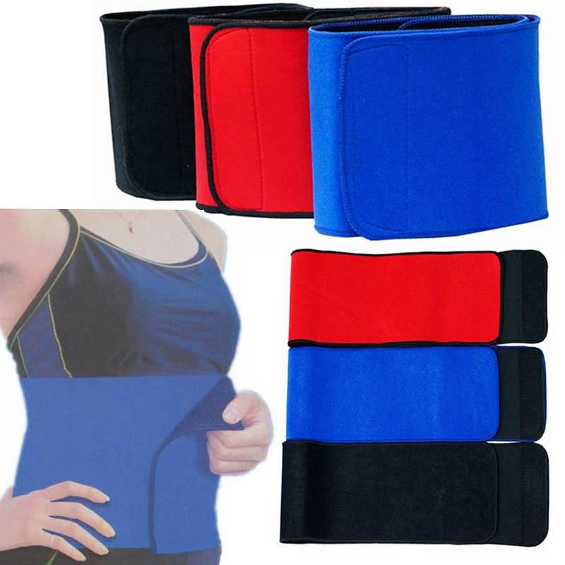 women Slimming fitness Waist belt sport trainer men warm support tool Belt Trimmer Back Braces Lower Waist Lumbar Belt massage