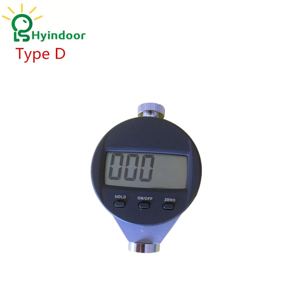 Type D Digital Shore Hardness Tester Meter High Quality Shore Durometer Digital Precise Hardness Tester Rubber Hardness Guage  цены