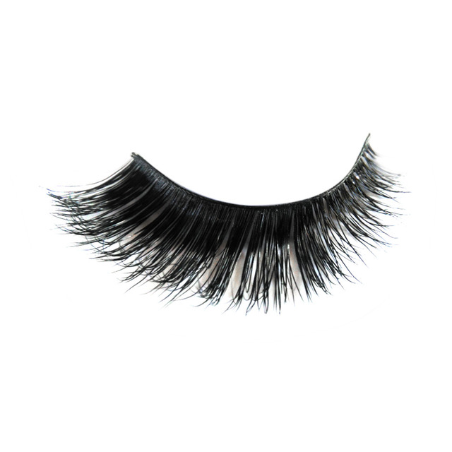 New Thick 3D Silk Eyelash 100% Real Mink Fur False Eye Lashes Individual Siberian Mink Lashes Eyelash Extensions on Sale D26