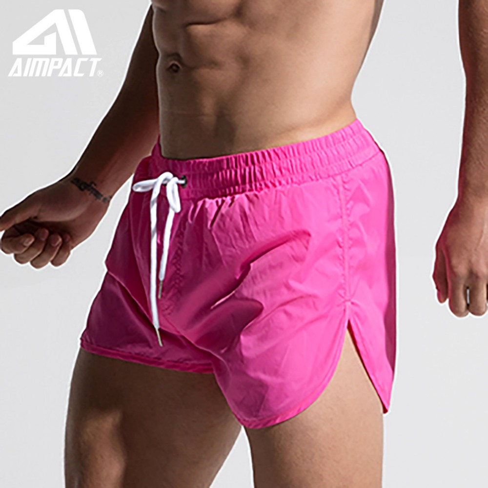 Desmiit Fast Dry Men's Board Shorts Summer Beach Surfing Man Swimming Shorts Athletic Sport Running Hybrid Home Shorts AM2031 image