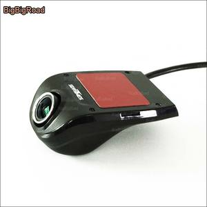 BigBigRoad wifi Car mini DVR Driving Video Recorder Dash Cam Dual Lens front cam with Rear View Camera HD 1080P