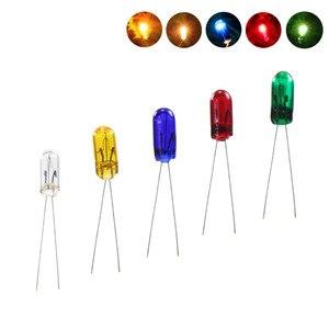Image 1 - MP02 100 قطع 3 ملليمتر 12 فولت مصغرة الحبوب من القمح لمبات مختلط اللون الأحمر/الأصفر/الأزرق/ الأخضر/الأبيض جديد