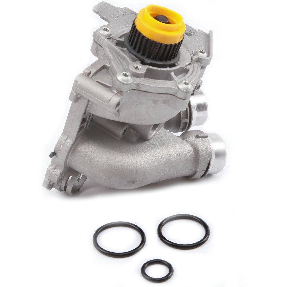 KEOGHS 06 H 121 026 CQ алюминий водяной насос в сборе для VW Гольф Jetta Passat Eos Tiguan Audi A3 A4 A6 Q3 Q5 TT сиденье Skoda 2,0 TFSI