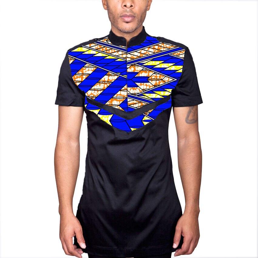 Lelaki Afrika puncak dengan epaulet disesuaikan pakaian african - Pakaian kebangsaan - Foto 2