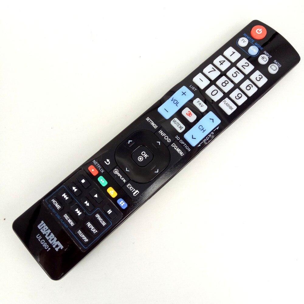 Новый для LG ulg901 ТВ Blu-Ray DVD плеер универсальный пульт дистанционного управления для akb72914201 72915252 akb72914240 по usarmt Программирование не требуется