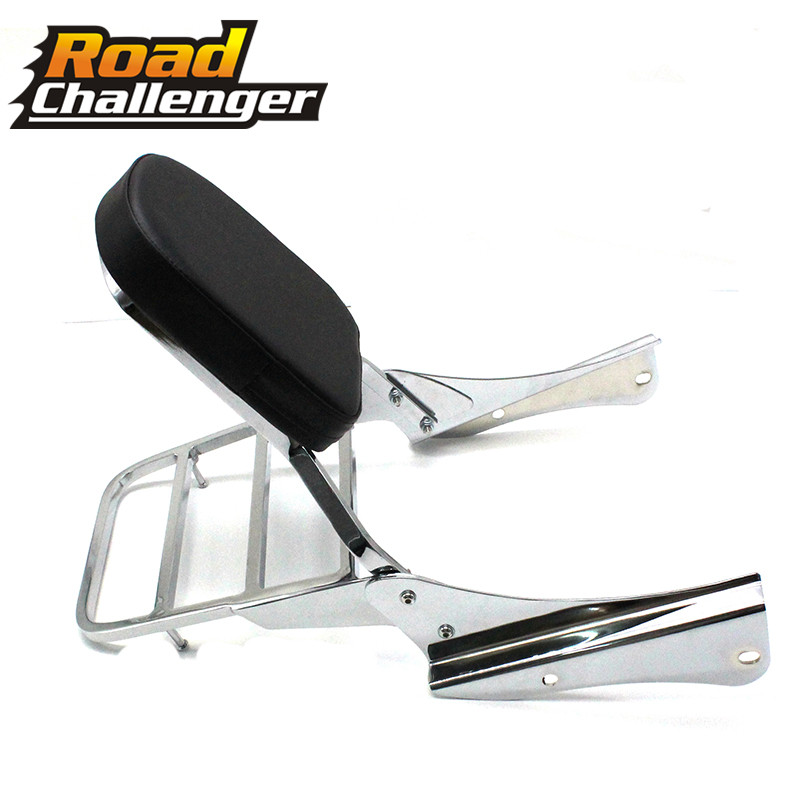 For Honda ACE SHADOW VT750C 01-08 Motorcycle Passenger Backrest Sissy Bar Rear Luggage Rack