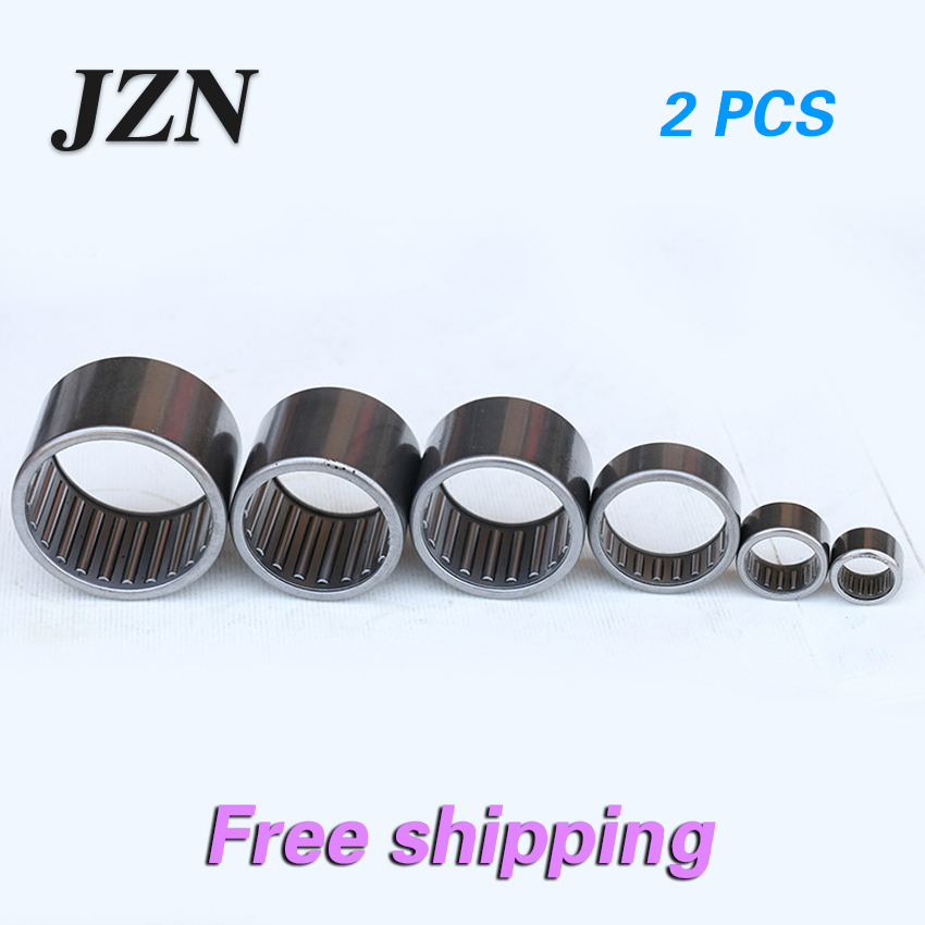 Free Shipping! 2PCS  HK1010 10*14*10mm Needle Roller Bearings