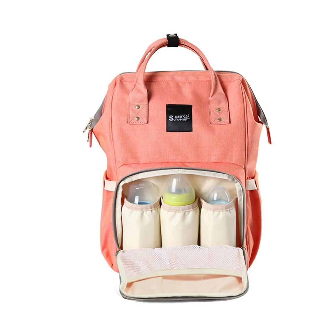 Брендовая Модная мама рюкзак для подгузники мешок большой Ёмкость мать рюкзак пеленки Средства ухода за кожей для будущих мам рюкзак младе...