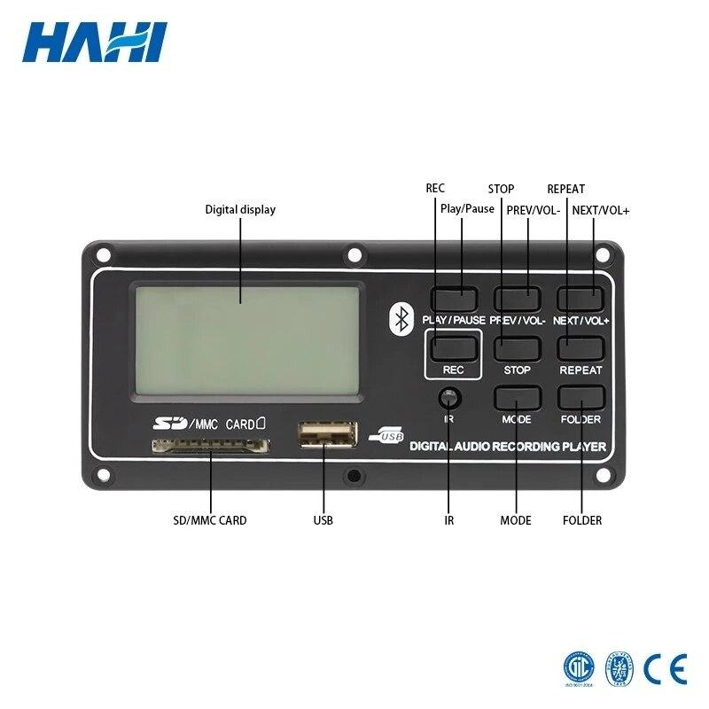 Kleine Seesterne Blue tooth USB MP3 Netzteil FM Radio MP3 Decoder Board DC 5 v Audio Modul Für Fernbedienung musik Lautsprecher