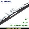 """Limpiaparabrisas trasero para Citroen C4 Picasso (desde 2006 en adelante) 14 """"RB670"""
