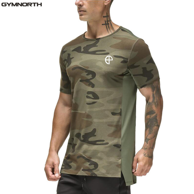 a43289bb781e1 Man Casual Camouflage T-shirt Men Army Tactical Combat T Shirt Military  Camo Mens T Shirts Fashion 2018 Tops   Tees DTEP01