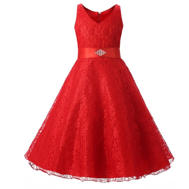 Buy wedding party princess girl dress for Wedding party dresses for girl
