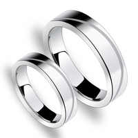 Hi Tech Scratch Proof Tungsten Carbide Engrave Ring Set Pair Matching Engagement 5mm And 3 5mm