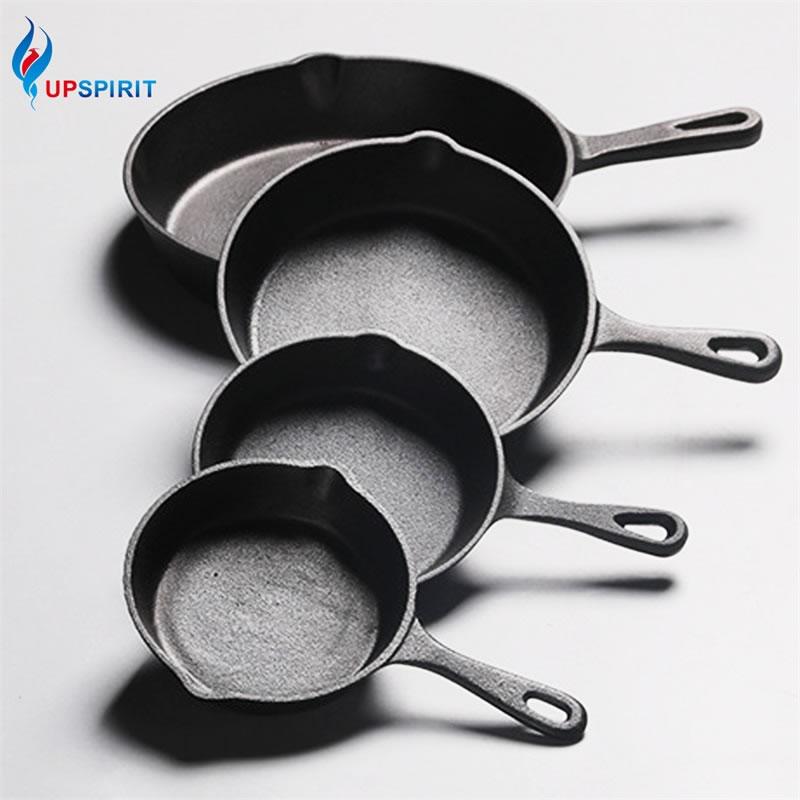 Чугунная Антипригарная посуда UPSPIRIT диаметром 14-20 см для блинов