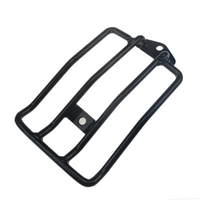 Motorcycle Rear Chrome Plated Luggage Rack Solo Seat Fits For Harley Davidson Sportster 883N 1200 XL