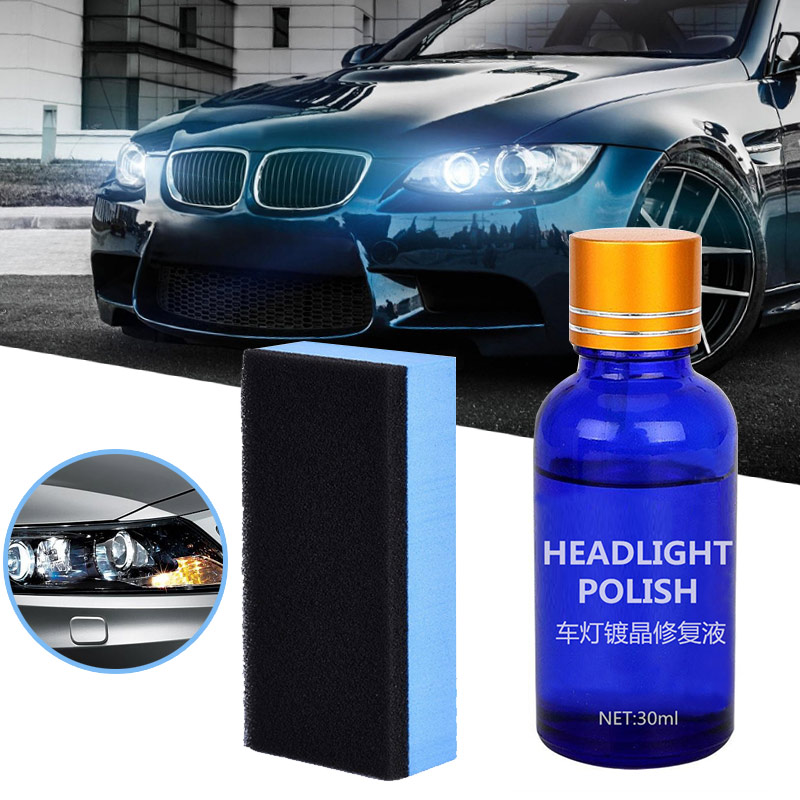 Hot Auto Quick Cleaning Car Headlight Polish Scratch Renovation Agent Polishing Coat Cars Care Auto Coating Repair Liquid M8617