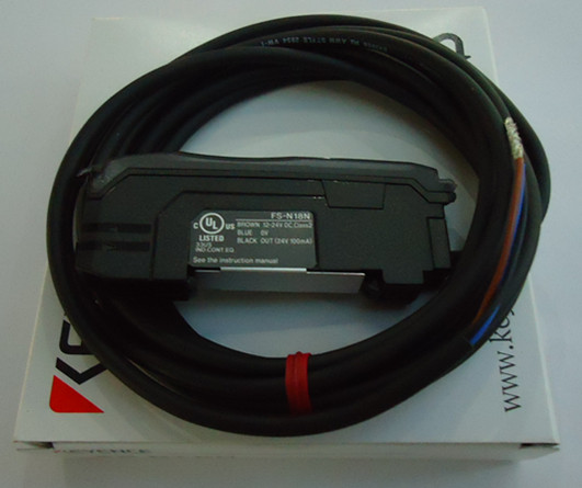 цена на NEW ORIGINAL JAPAN KEYENCE photoelectric sensor switch fiber amplifier FS-N18N