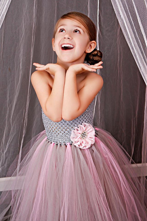 Kindergarten Cake Social outfit Fluffy Tulle ball gown Forest mother daugther Flower props costum Performing Party Dresses social evolution