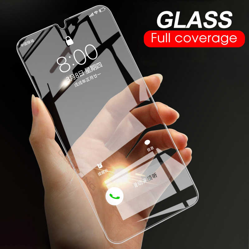 9H Tempered Glass For Samsung Galaxy A50 A30 M20 M30 A10 M10 A7 2018 A750 Transparent Cover Screen Protector Toughened Glass