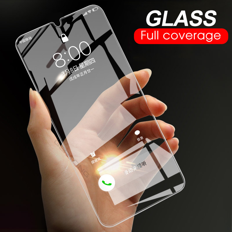 9H Tempered Glass For Samsung Galaxy A50 A30 M20 M30 A10 M10 A7 2018 A750 Transparent Cover Screen Protector Toughened Glass(China)
