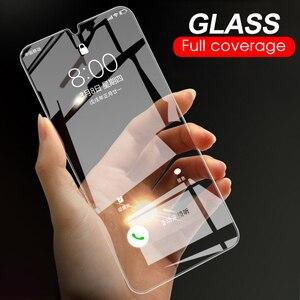 Image 1 - 9H Vetro Temperato Per Samsung Galaxy A50 A30 M20 M30 A10 M10 A7 2018 A750 Trasparente Dello Schermo Della Copertura Della Protezione vetro temperato