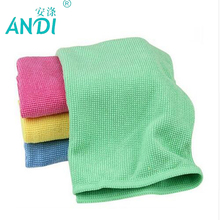 4 Pieces Microfiber Kitchen Durable Pearl Cleaning Cloth Set 30x40cm Dish Washing Towels Absorption Glass Accessories