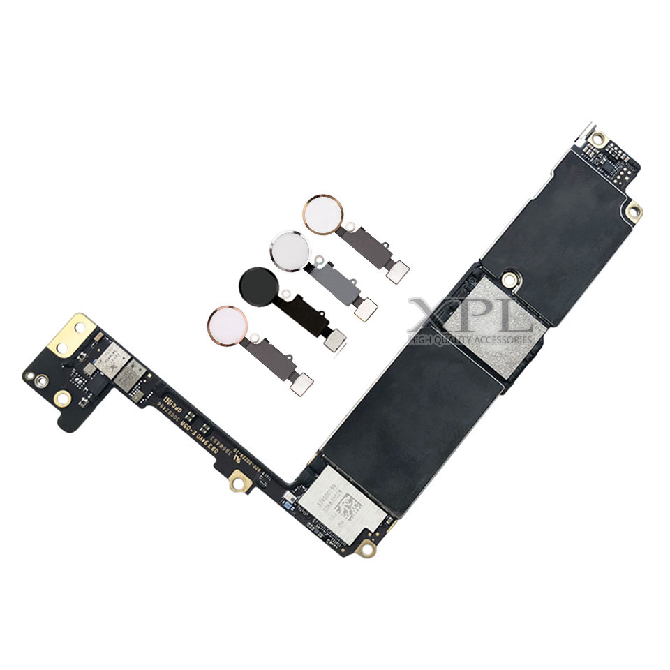 For iphone 7 Plus Motherboard with Touch ID,Original unlocked for iphone 7Plus Mainboard No iCloud,for iphone 7P Plate 2