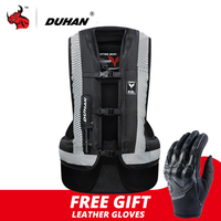 DUHAN Motorcycle Air bag Moto Motorcycle Vest Advanced Air Bag System Protective Gear Reflective Motorbike Airbag Moto Vest