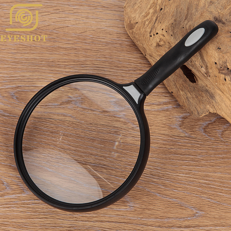 Large Portable 2 5X Magnifer 130mm 5 1 quot Handheld Magnifying Glass for Reading Newspaper Magazine Map Science Class Hobby Jewelry in Magnifiers from Tools