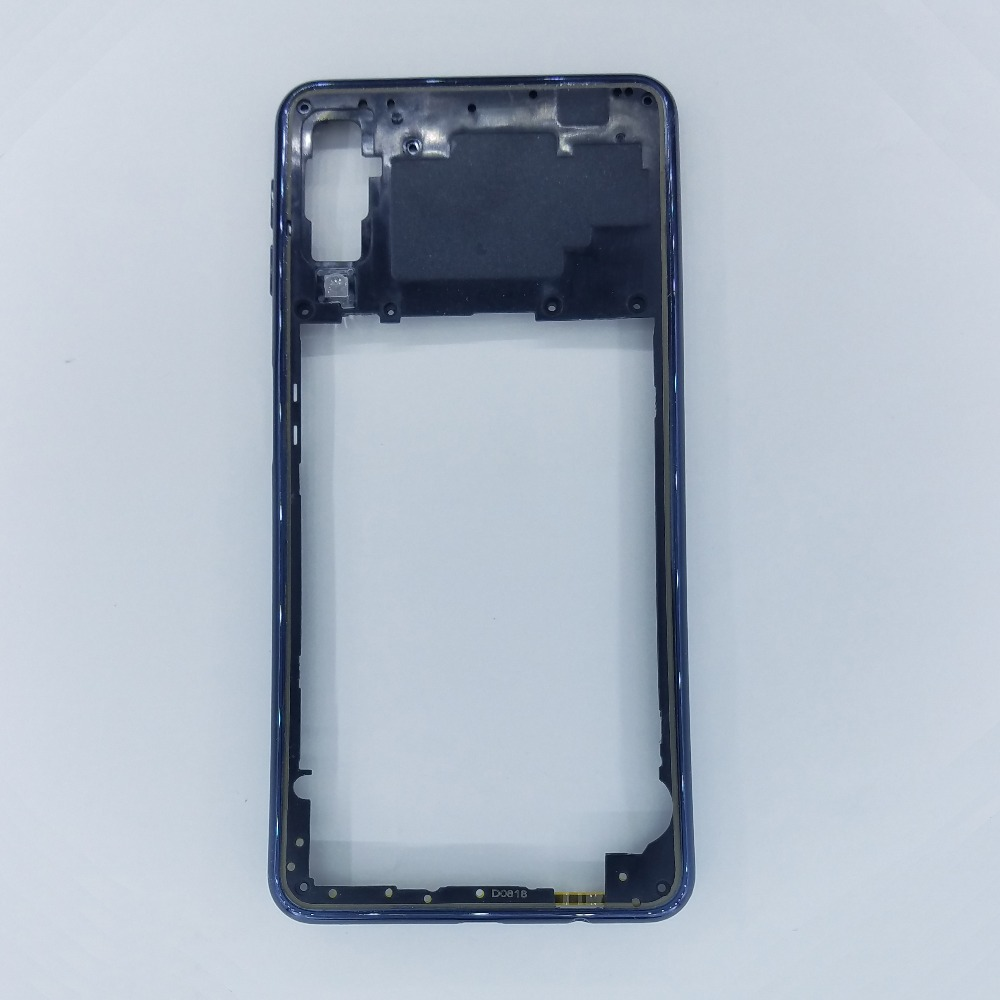 For Samsung Galaxy A7 2018 SM-A750F A750F A750 Original Phone New Housing Middle Frame Chassis Replacement With Key ButtonFor Samsung Galaxy A7 2018 SM-A750F A750F A750 Original Phone New Housing Middle Frame Chassis Replacement With Key Button