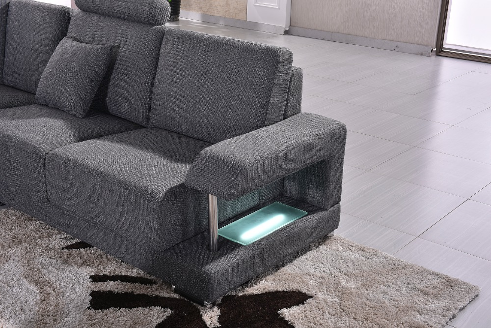 2018 Sofas For Living Room Chaise Promotion New Fabric Modern Sofa