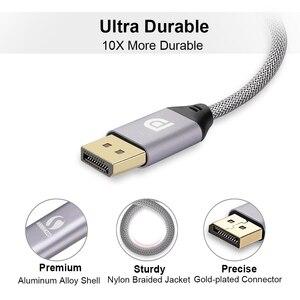 Кабель DisplayPort 4K 60Hz DP 1,2 версия шнур Ultra HD 3D для HDTV PC видеокарты ноутбук проектор кабель Displayport