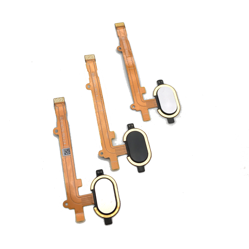 New Home Button FingerPrint Touch ID Sensor Flex Cable Ribbon For Motorola MOTO Z2 Play Replacement Part