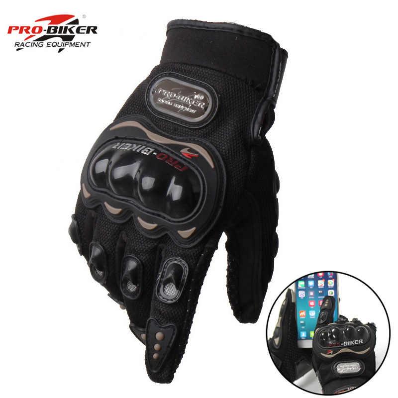 Guanti da motociclista luvas PRO, guanti da motociclista, impermeabili