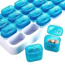 31 Day Medicine Tablet Dispenser Organizer Pill Box Weekly Storage Case Extra Large Monthly Pill Organizer