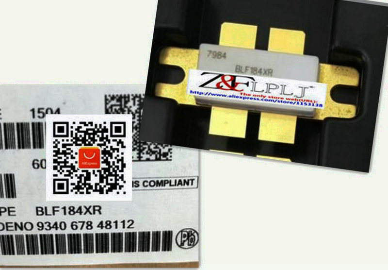 LDMOS power transistor BLF 184XR BLF184 XR BLF184XR New Original