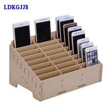 Multifunctional Wooden Storage Box Mobile Phone Repair Tool Motherboard Accessories